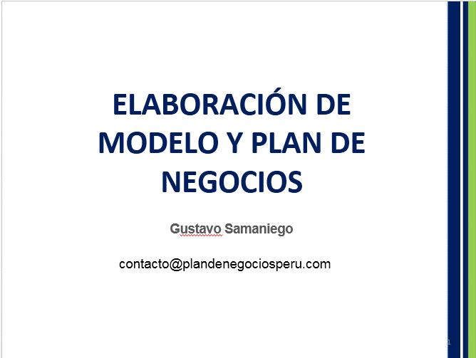 Cómo elaborar modelos y planes de negocios