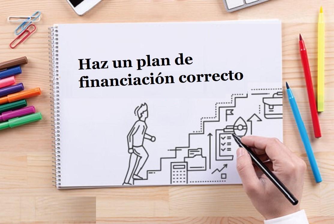 Plan de financiación para un nuevo negocio